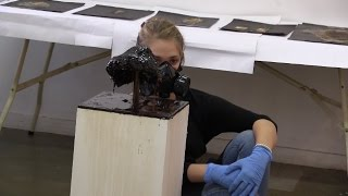 Kyra Pape: The sugar sculptor with a sugar allergy