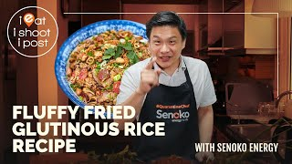 Fluffy Fried Glutinous Rice Recipe - Ieatishootipost