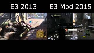 Watch Dogs E3 Mod Similarities Comparison