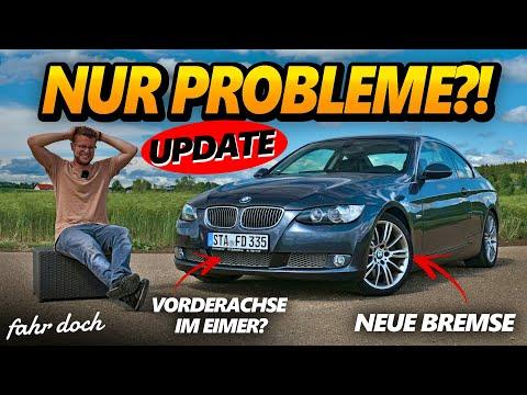 Vorderachse poltert BRUTAL! 😖 | BMW 335d E92 Projektauto UPDATE | Fahr doch