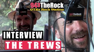 The Trews on Their New Album 'Civilianaires' , Living in Oshawa, Advice For Younger Musicians + More