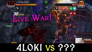 MCOC - Quake vs The Thing ( Easy Uncollected Takedown