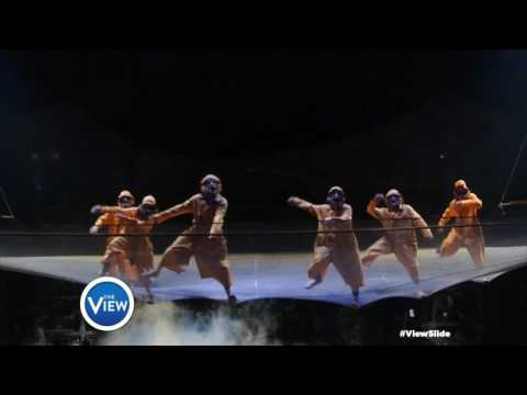 Cirque Du Soleil Kurios Rocks The #ViewSlide | The View