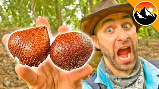 Dare me to eat SNAKE FRUIT?