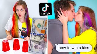 I Tested VIRAL TikTok Hacks On My Girlfriend For A Kiss