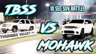 The Mohawk battles another 10 sec SUV! Also set new bests in the 1/4 mile