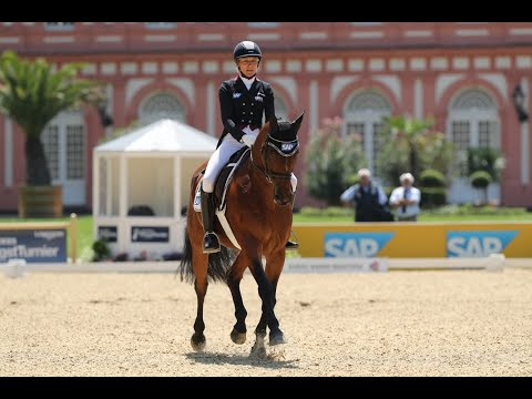 Ingrid Klimke's ERM Record best ever scoring Dressage Test from Wiesbaden 2019
