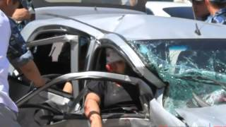 ДТП в Астане видео 31.05.2012