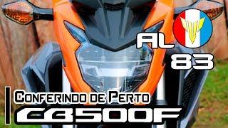 Honda CB-500F / 2019 - Conferindo de perto as novas cores.