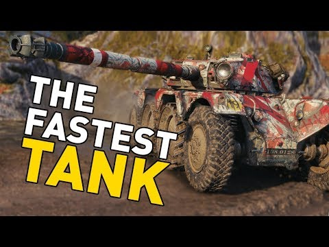 The FASTEST Tank in World of Tanks!