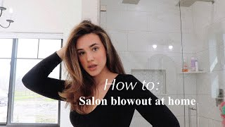 HOW TO: SALON BLOWOUT AT HOME   Payten Silva