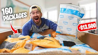 I Bought $13,500 Worth of UNOPENED Amazon Packages!! (Amazon Return Pallet Unboxing!)