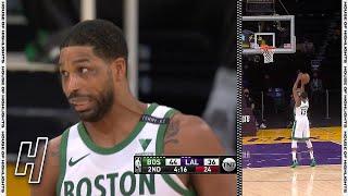 Tristan Thompson Airballs a Free-Throw - Celtics vs Lakers   April 15, 2021