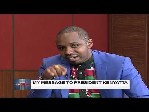 Boniface Mwangi's message to President Uhuru   Point Blank