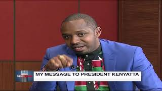 Boniface Mwangi's message to President Uhuru | Point Blank