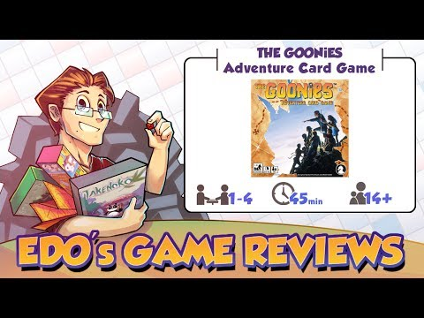 Edo's The Goonies: Adventure Card Game Review