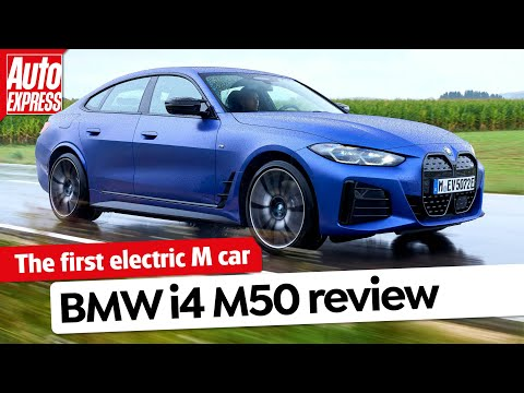 NEW BMW i4 M50 review: how much fun is an electric M car? | Auto Express