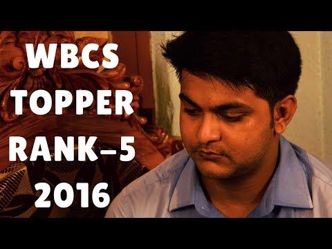 Featuring Mr. Debjit Dutta, WBCS TOPPER (Rank-5), 2016 Only At Zero-Sum