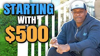 How To Start Real Estate Investing With Little Money (Only $500)