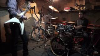 Children of Bodom - Triple Corpse Hammerblow - Drum and Guitar Cover