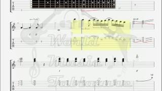 Deep Purple   The Spanish Archer GUITAR 1 TAB
