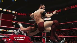 WWE 2K19 New Moves pack Available Today - with Trailer