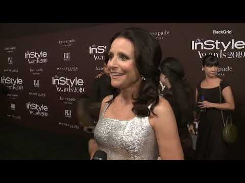 Julia Louis-Dreyfus captivates at the 2019 InStyle Awards in LA