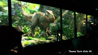 King Kong 360 3D - Return To Skull Island Ride - Universal Studios Tram Tour Ride 2014