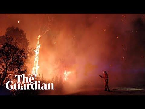 Australia bushfires: hundreds evacuated in worst start to fire season on record