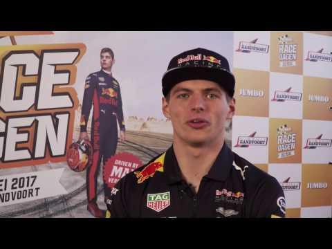 Zandvoort maakt zich op voor Jumbo Racedagen 'Driven by Max Verstappen'
