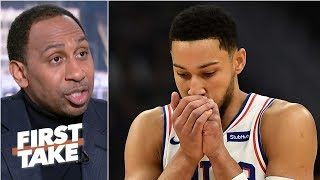 Ben Simmons' poor shooting will seriously hurt 76ers' championship hopes - Stephen A. | First Take