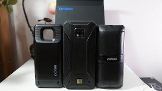Doogee S95 Unboxing & Hands-On: Modular Triple Lens Phone