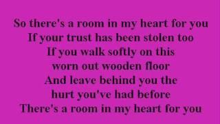 Faith Hill - A Room in my Heart with Lyrics