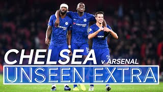 Late Comeback Scenes! 🔥  Arsenal 1-2 Chelsea   Unseen Extra