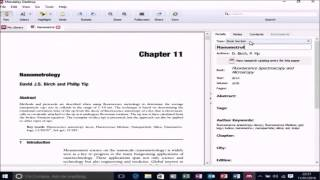 Referencing in Microsoft Word with Mendeley Desktop