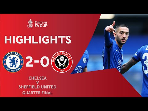 Late Ziyech Goal Seals Tough Chelsea Win | Chelsea 2-0 Sheffield United | Emirates FA Cup 2020-21