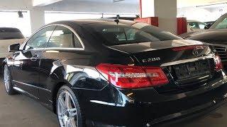 Mercedes-Benz E200 Coupe! Перед летом цены ползут вверх ! Оправдана ли переплата!