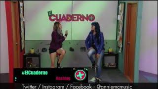 Entrevista en Canal Tr3ce - Annie McCausland
