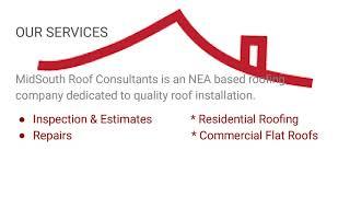 Roofing contractors Jonesboro, AR - Midsouth Roof Consultants