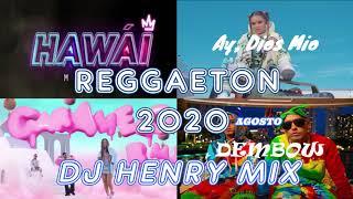 Mix Reggaeton Agosto 2020  Los Mejores éxitos  Dj Henry Mix