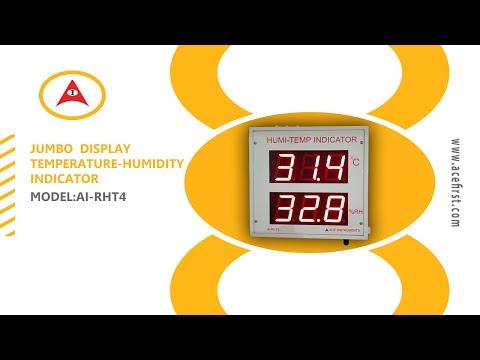 Large Display Humidity Temperature Indicator
