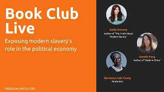 Book Club Live: Exposing slavery's role in the political economy