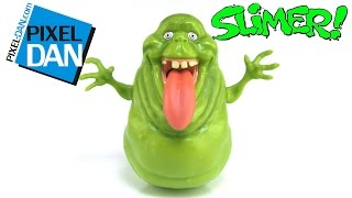 Ghostbusters Slimer Tongue Screaming Ghost Figure Video Review