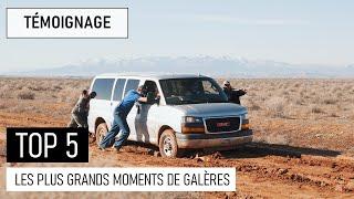 TOP 5 DES PLUS GRANDS MOMENTS DE GALÈRE EN VOYAGE