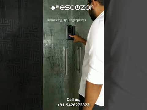 Fingerprint Digital Glass Door Lock