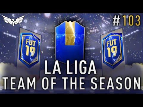 *LIVE* LA LIGA TOTS!!! Team of the Season Pack Opening - Weekend League - FIFA 19 RTG #103