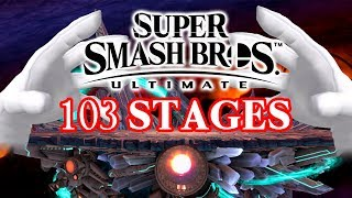 Smash Bros. Ultimate Stages. Is Sakurai Insane?