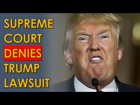 Supreme Court DENIES Trump and Mike Kelly Pennsylvania Case; even Alito REJECTED him