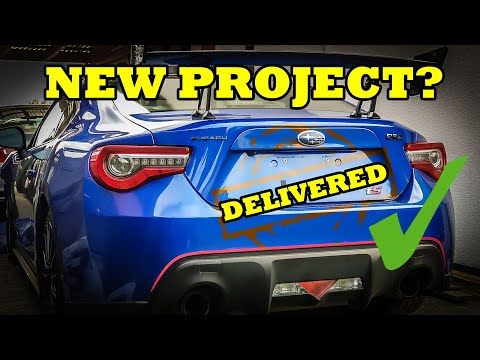 Taking delivery of WRECKED project car - 2018 Subaru BRZ tS Rebuild - Episode 1