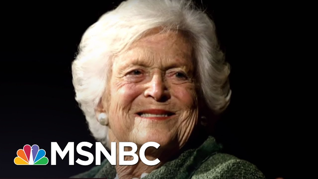 Remembering Barbara Bush: 'An Indispensible Partner' | Morning Joe | MSNBC thumbnail